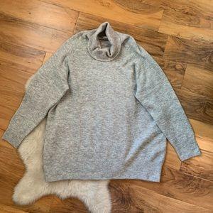 H&M Grey Sweater Dress